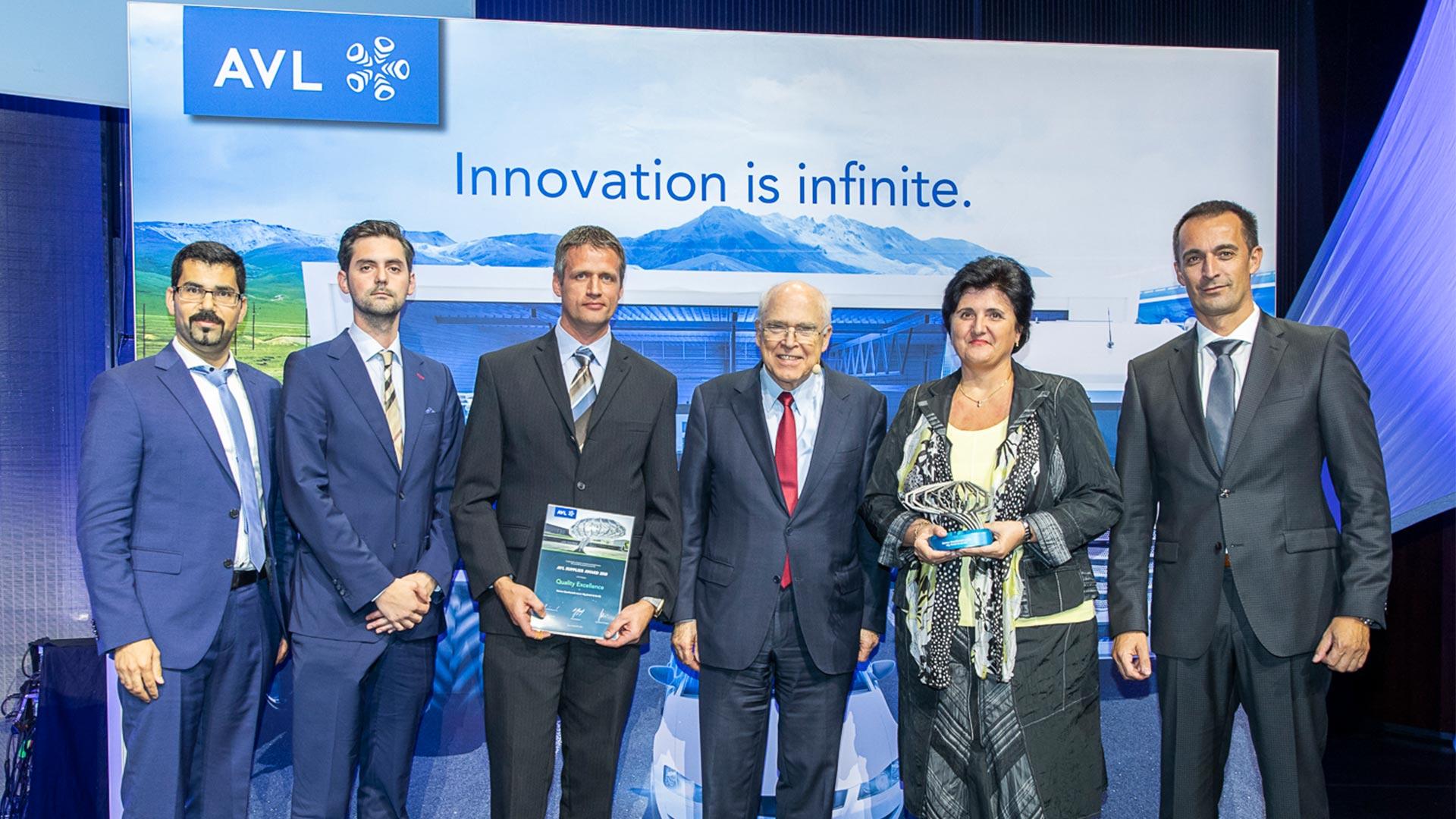 Merkan Maschinenbau Mechanische Werkstätte – AVL Supplier Award